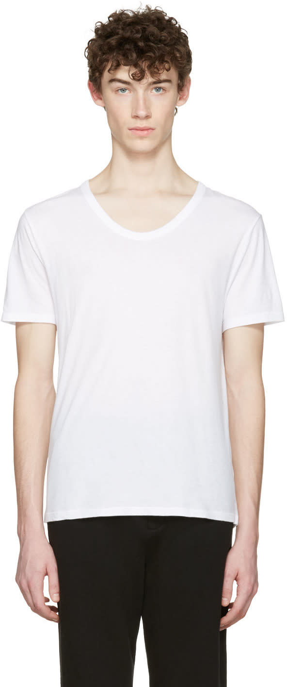 T By Alexander Wang White Classic T-shirt