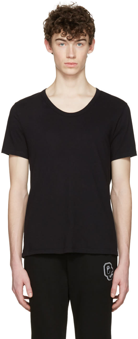 T By Alexander Wang Black Classic T-shirt
