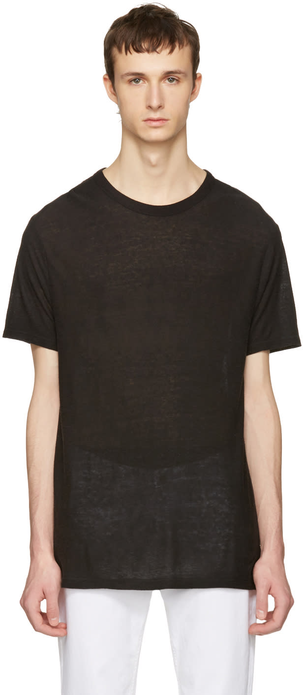 T By Alexander Wang Black Pilling T-shirt