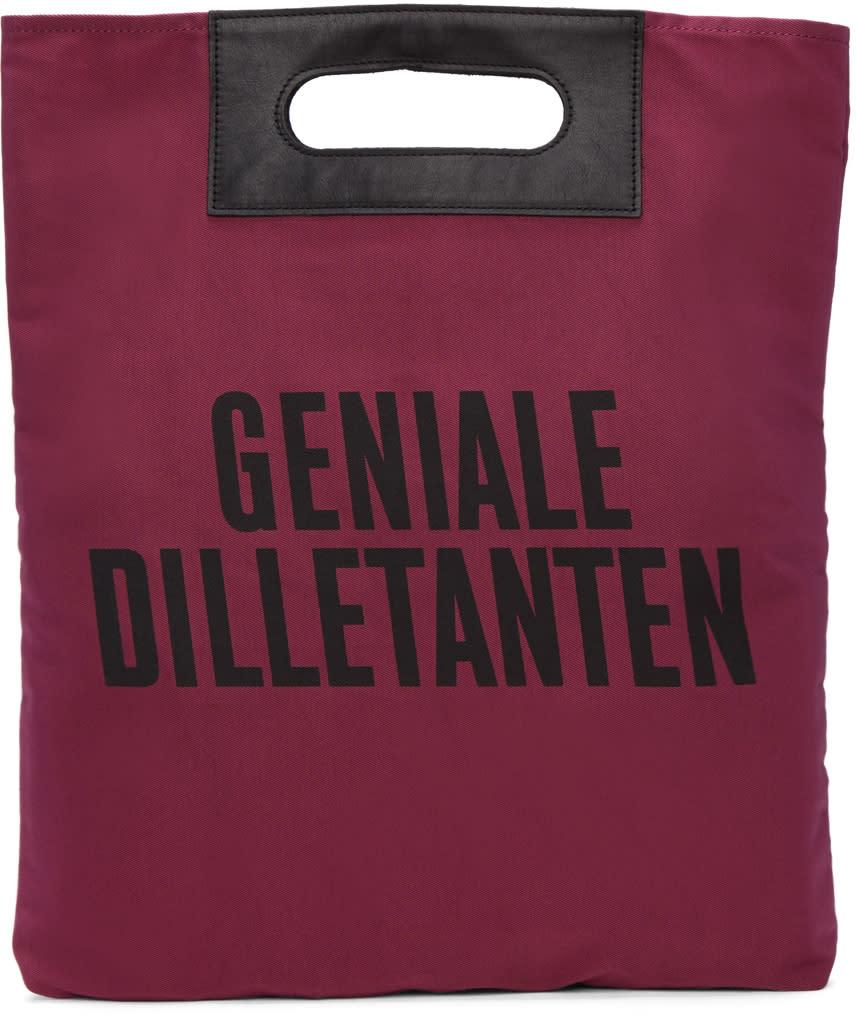 Robert Geller ピンク Geniale Dilletanten レコード トート