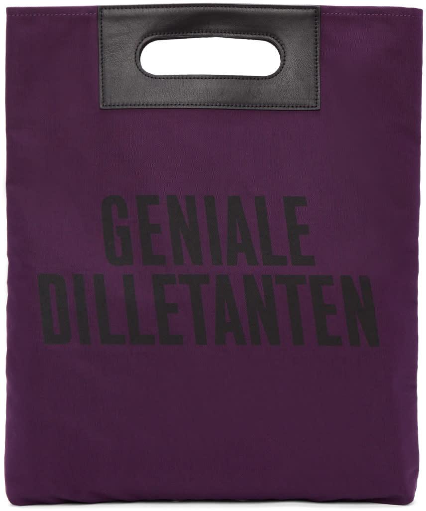Robert Geller パープル Geniale Dilletanten レコード トート