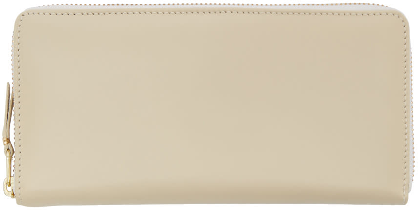 Comme Des Garçons Wallets Off-white Leather Continental Wallet