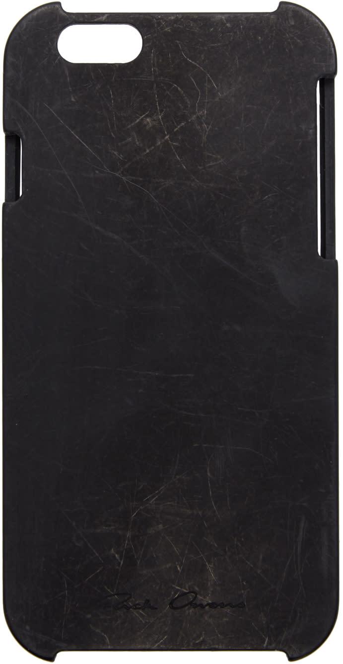 Rick Owens Black Rhodoid Iphone 6 Case
