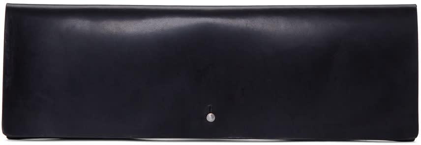 Rick Owens Black Large Flat Wallet