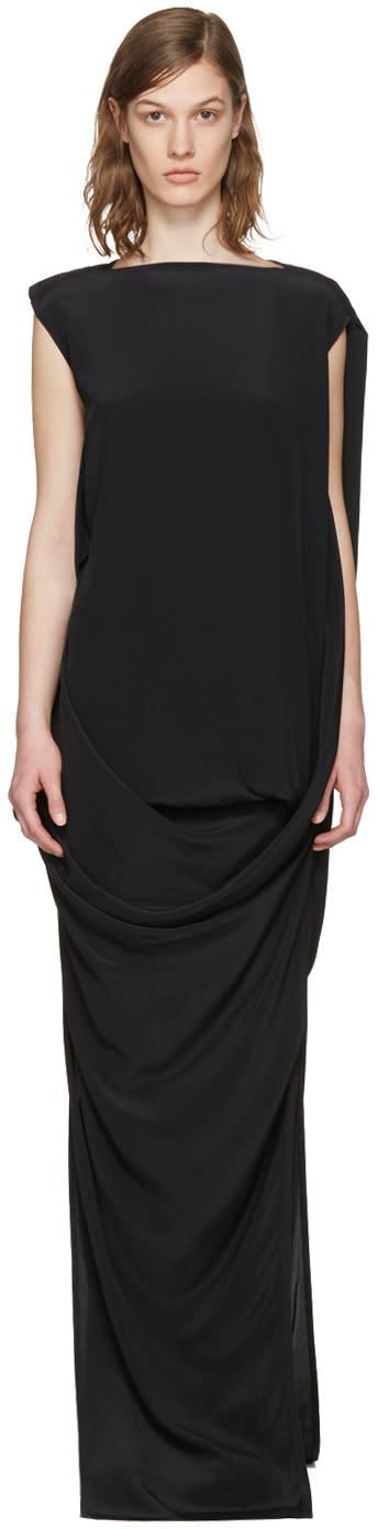 Rick Owens Black Nouveau Dress