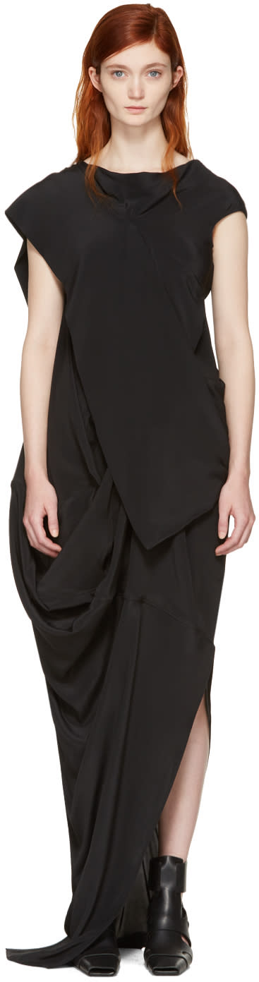 Rick Owens Black Egret Dress