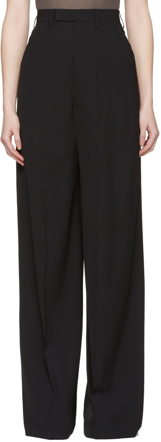 Rick Owens Black Astaire Trousers