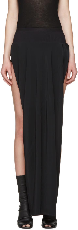 Rick Owens Black Double Boner Skirt