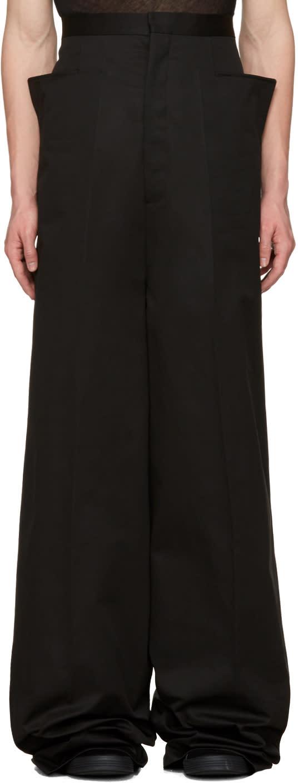 Rick Owens Black Walrus Trousers