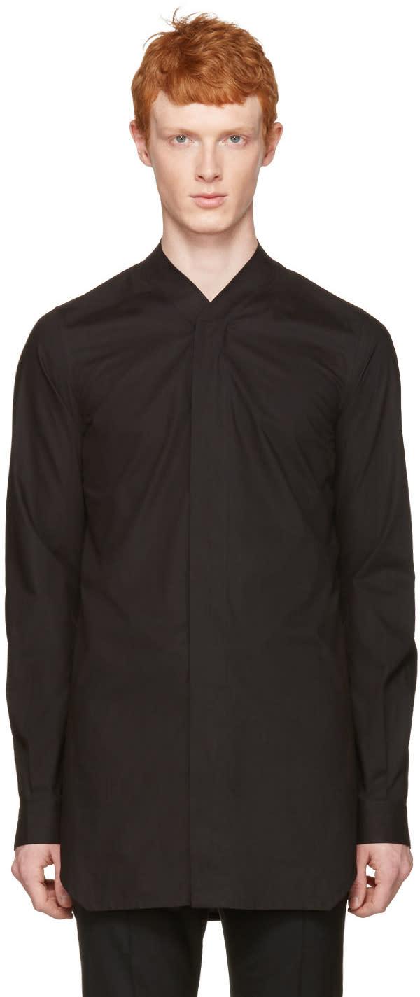 Rick Owens Black Faun Shirt