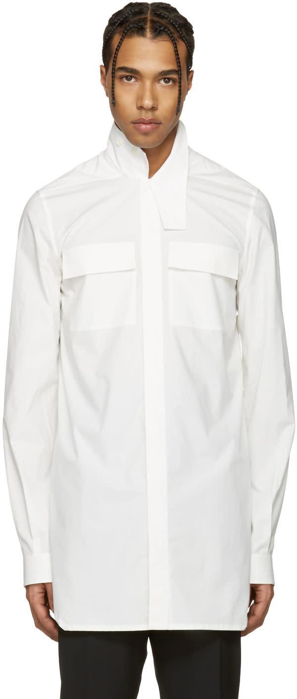 Rick Owens Off-white Field Shirt