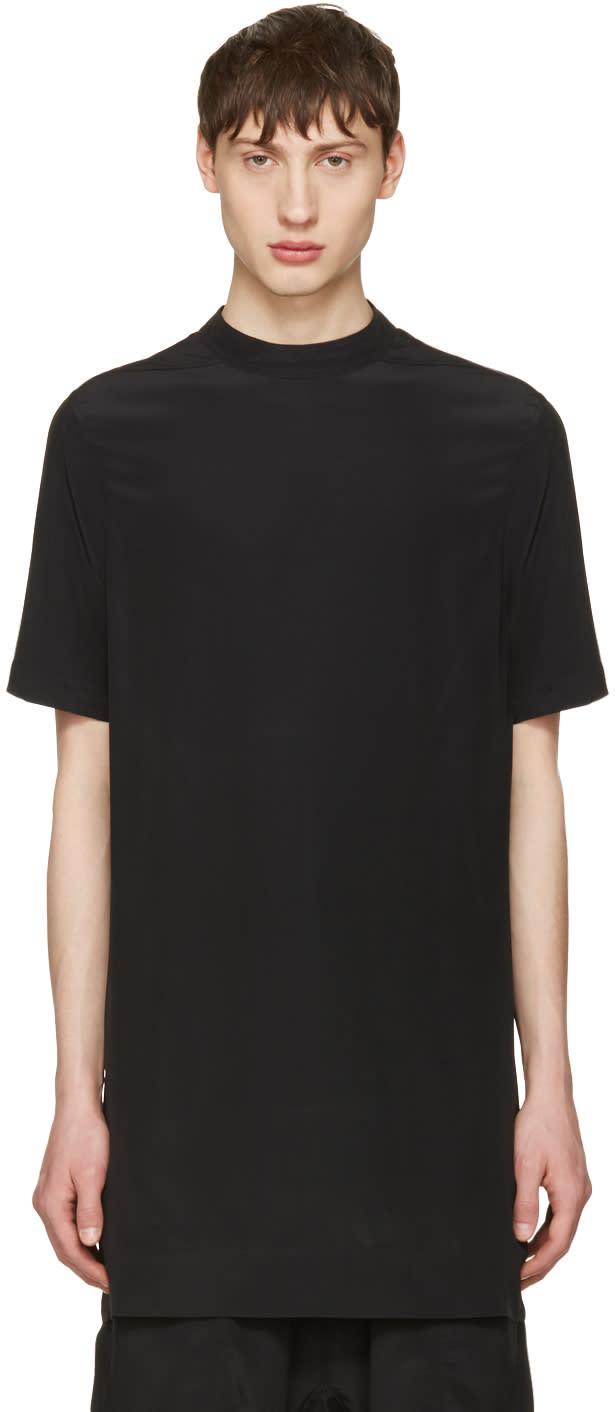 Rick Owens Black Moody Tunic T-shirt