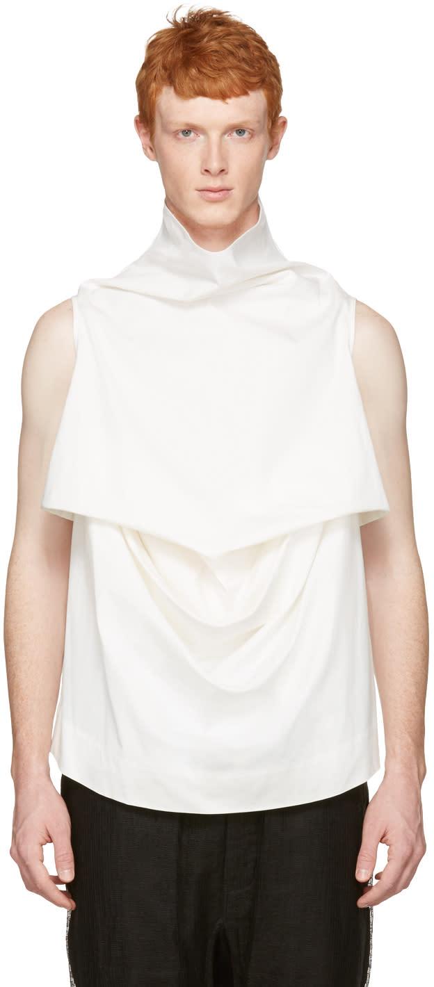 Rick Owens White Pelican Turtleneck
