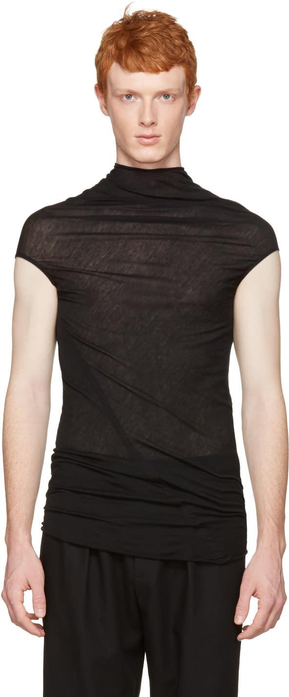 Rick Owens Black Bonne T-shirt