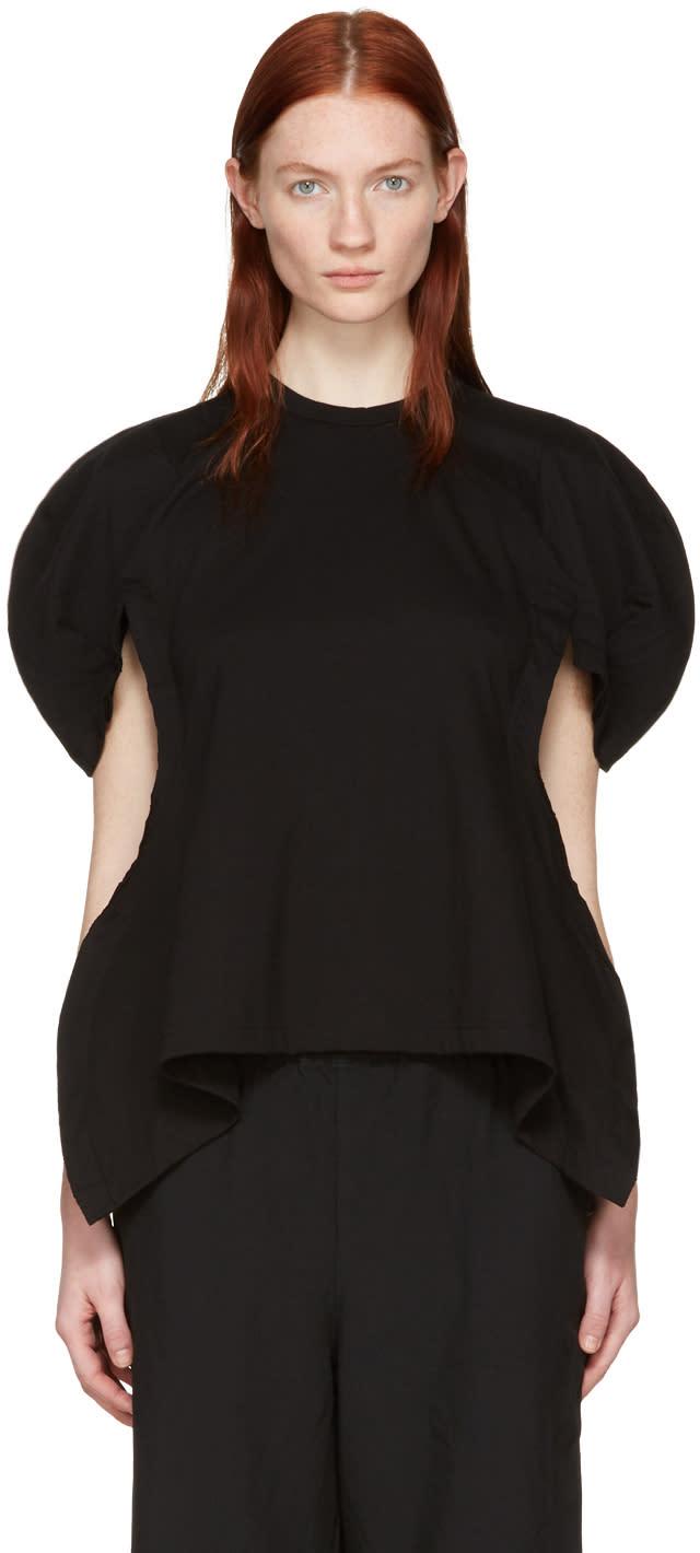 Comme Des Garcons Black Volume Sleeve T-shirt