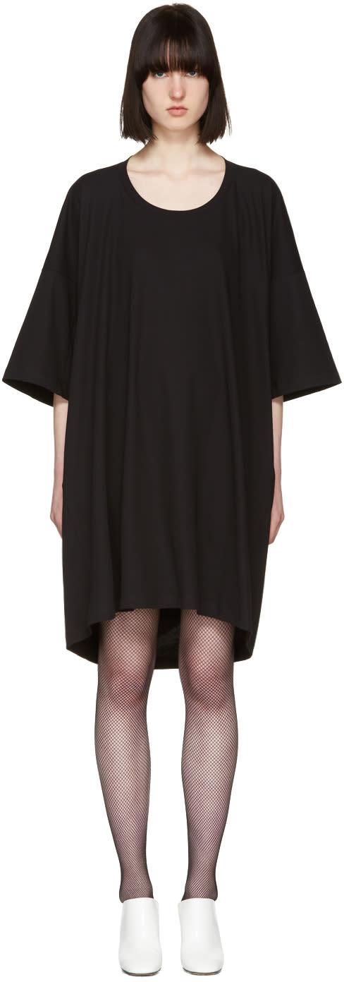 Jil Sander Black T-shirt Dress