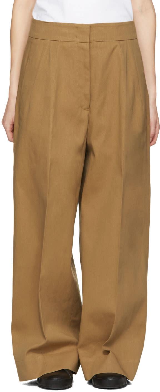 Jil Sander Tan Costanzo Trousers