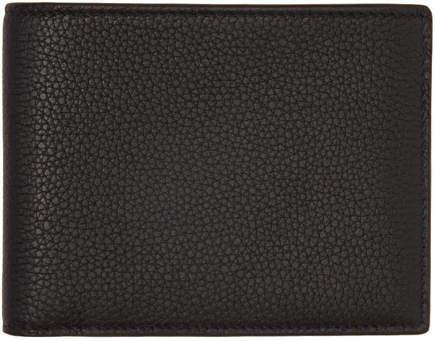 Jil Sander Black Pocket Wallet