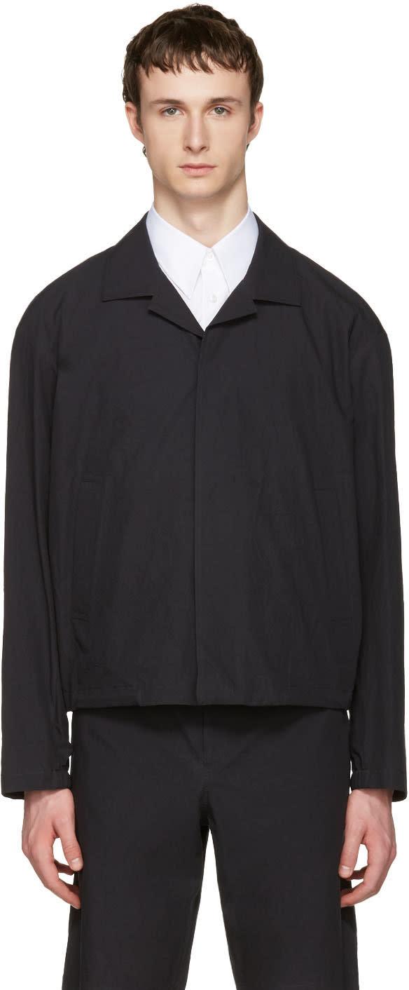 Jil Sander Blue Messino Jacket