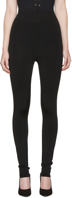 Balmain Black Classic Leggings