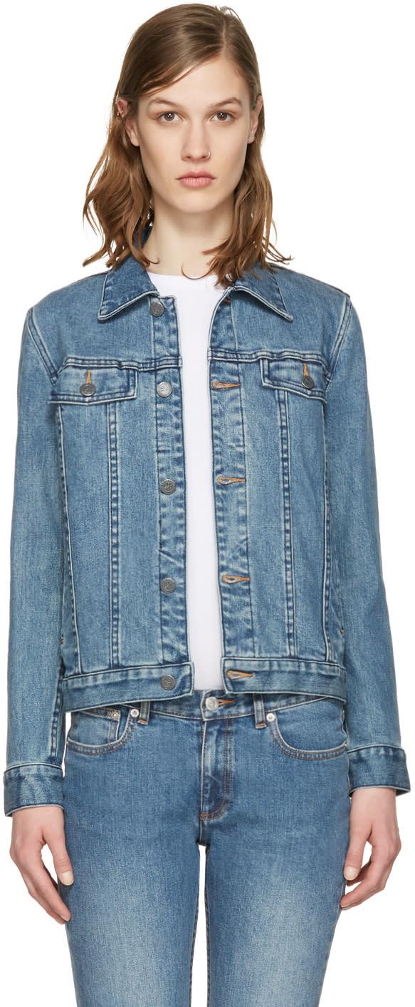 A.p.c. Indigo Denim Brandy Jacket