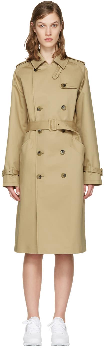 A.p.c. Beige Greta Trench Coat
