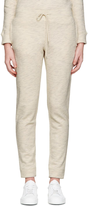 A.p.c. Ecru Lena Lounge Pants
