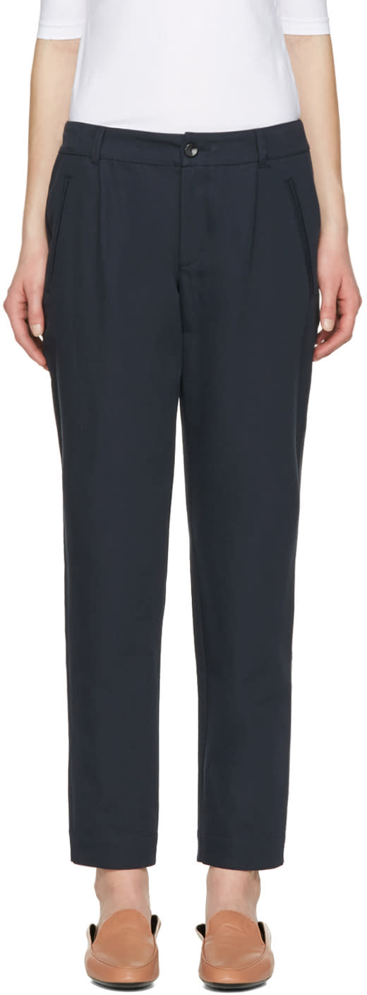 A.p.c. Navy Isabelle Trousers