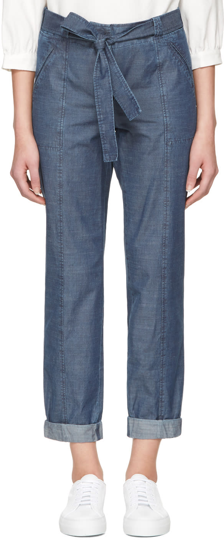 A.p.c. Indigo Burki Trousers