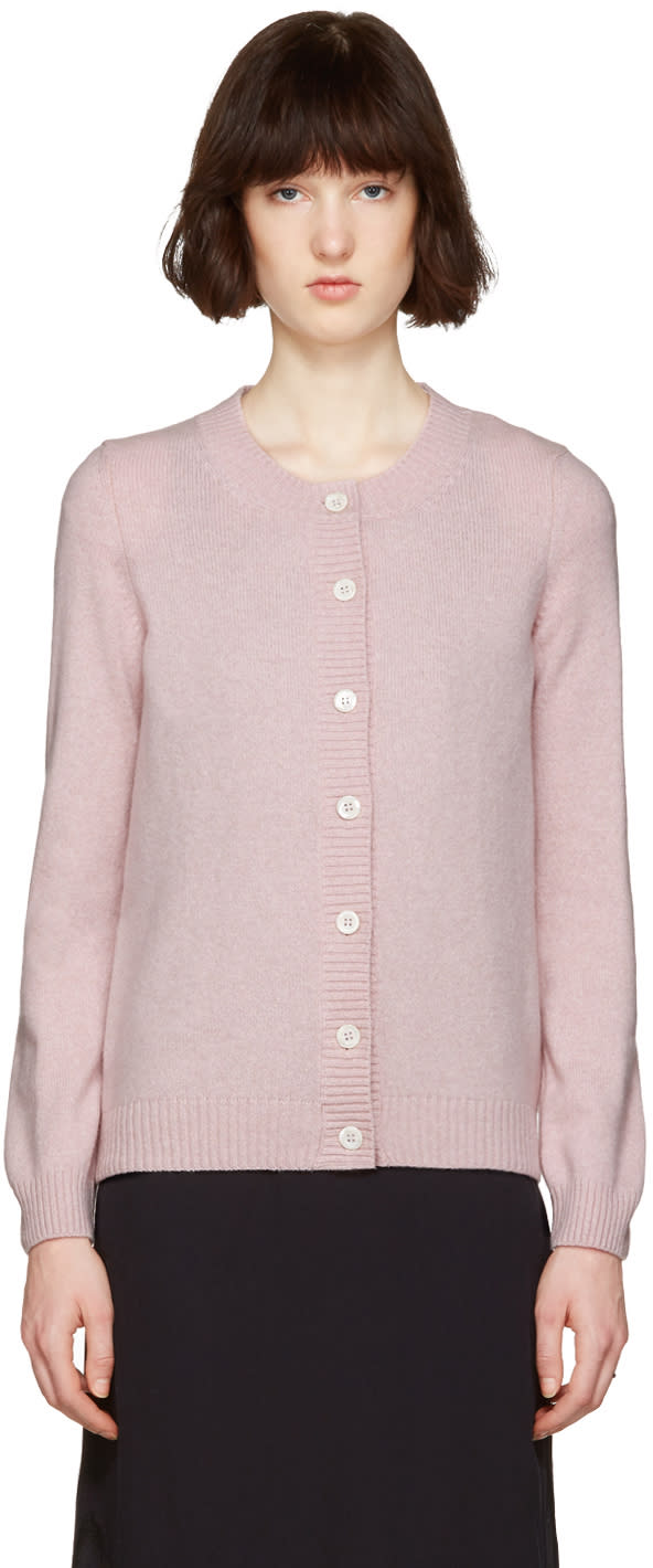 A.p.c. Pink Jackie Cardigan