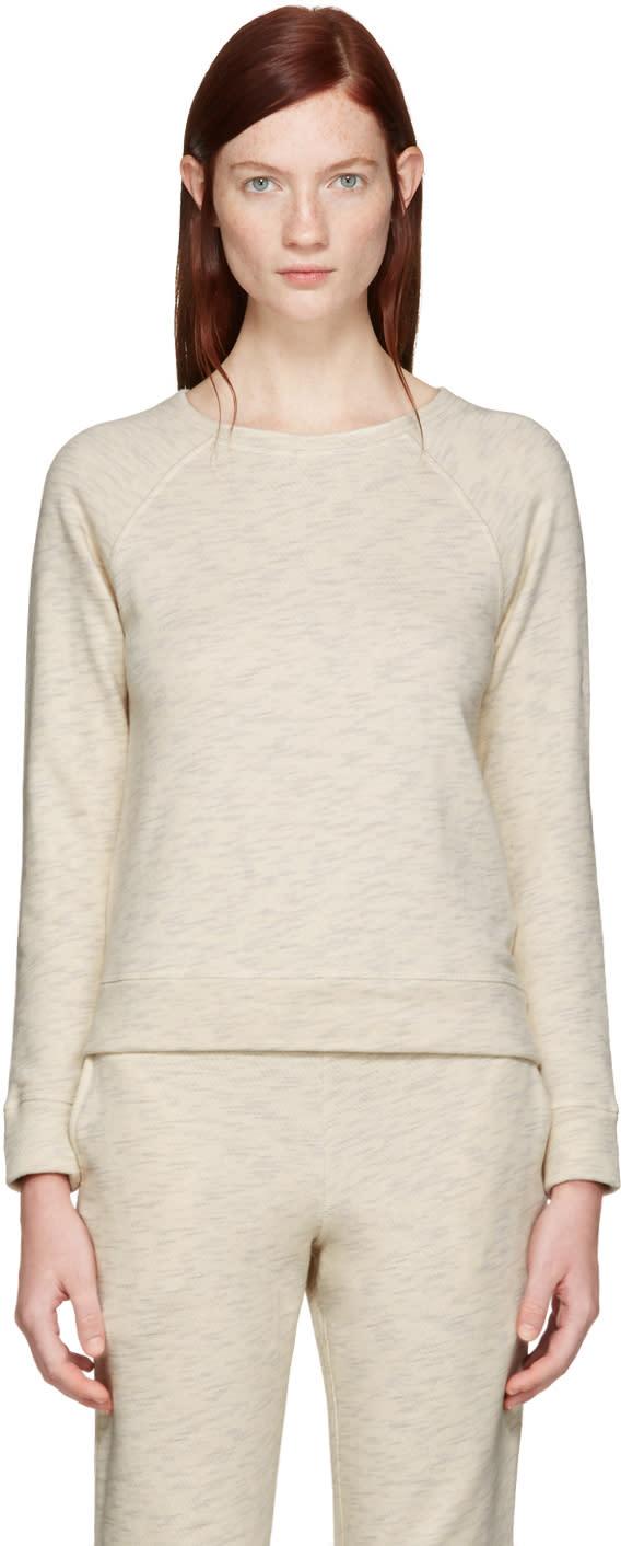 A.p.c. Ecru Simple Pullover