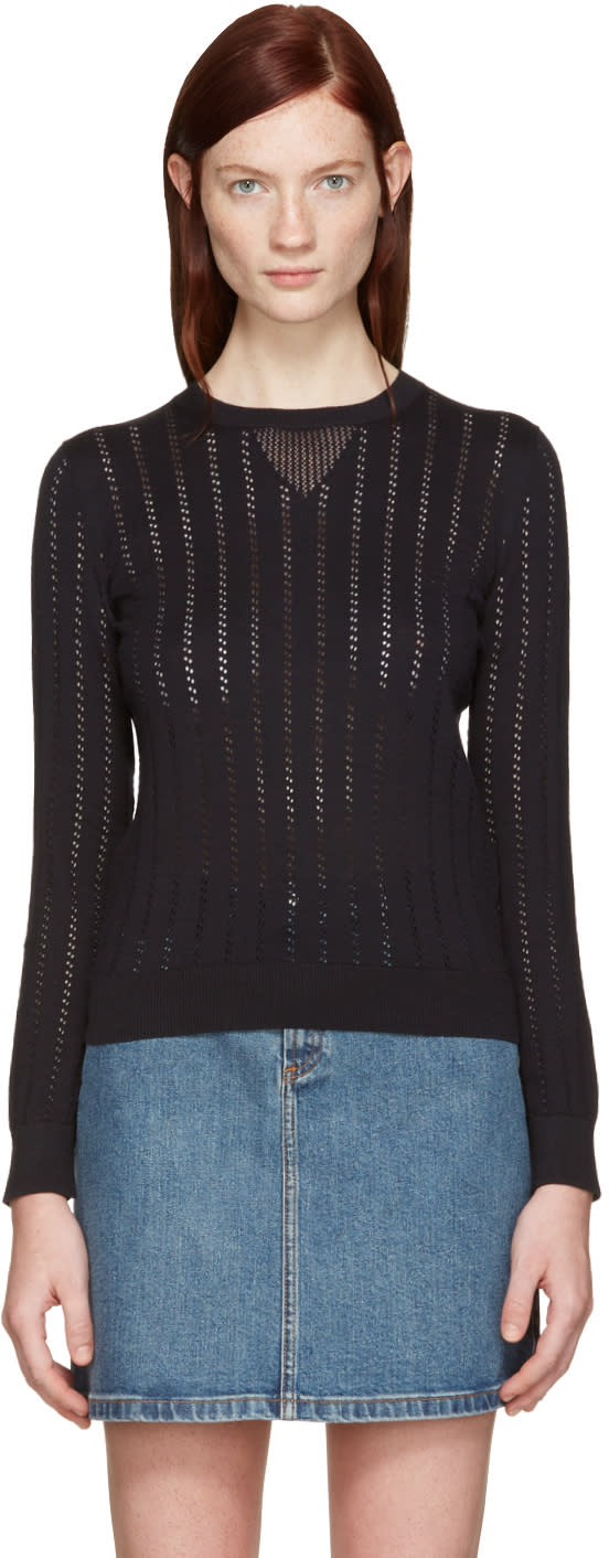 A.p.c. Black Annabelle Pullover