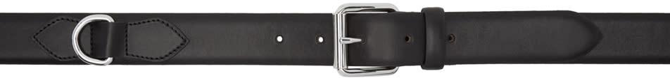 A.p.c. Black Fabien Belt