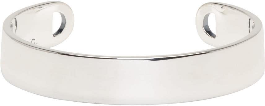 A.p.c. Silver Chester Cuff Bracelet