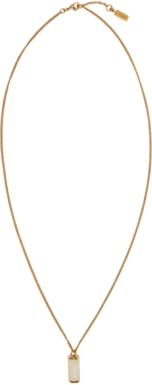 A.p.c. Gold Turenne Necklace