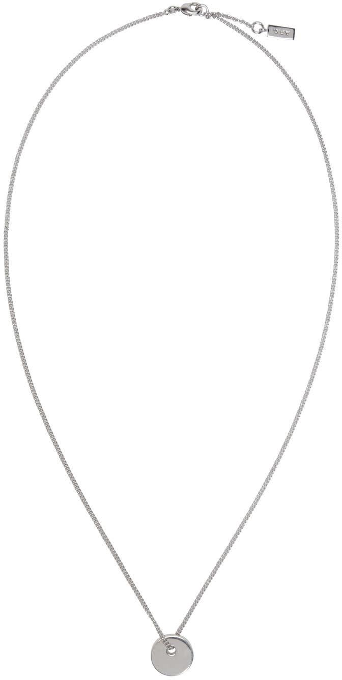 A.p.c. Silver Serge Necklace