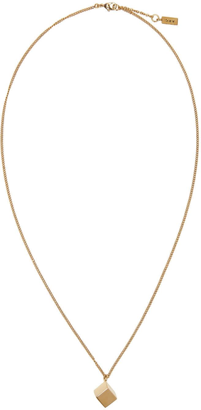 A.p.c. Gold Bristol Necklace
