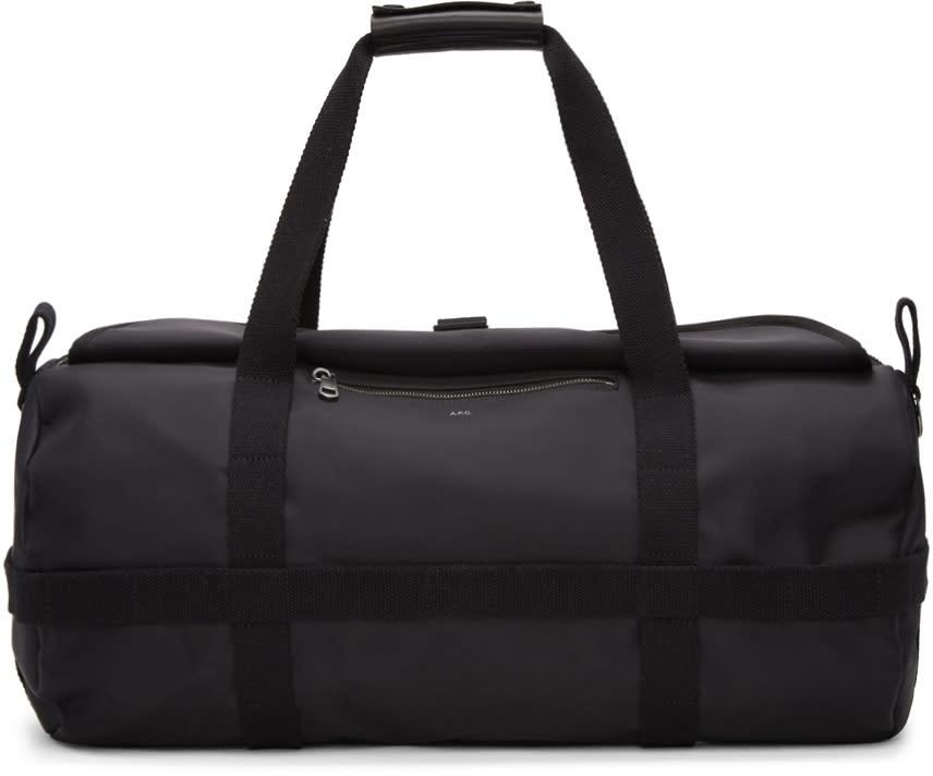 A.p.c. Black Cyril Duffle Bag