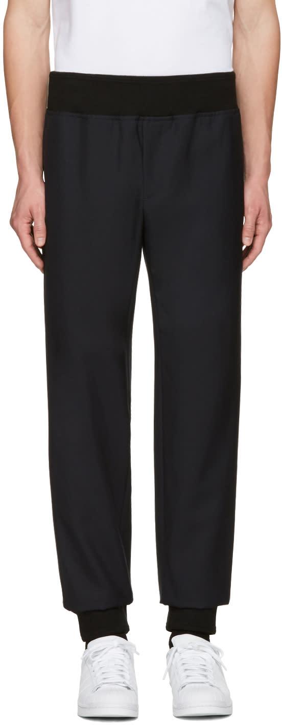 A.p.c. Black Wool Lounge Pants