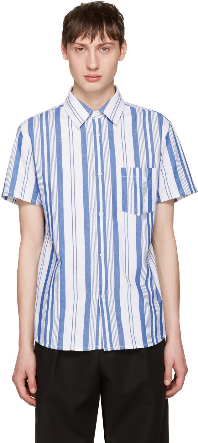 A.p.c. Blue Bryan Shirt