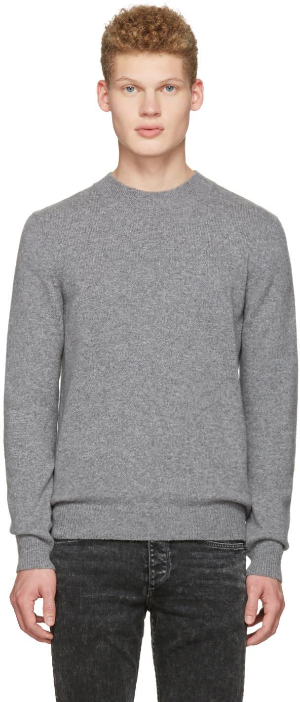 A.p.c. Grey Submarine Sweater