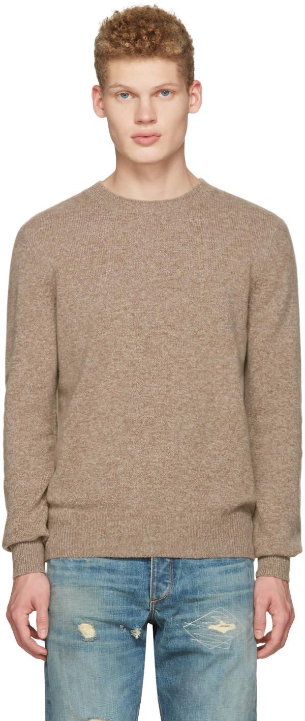 A.p.c. Brown Ringo Sweater