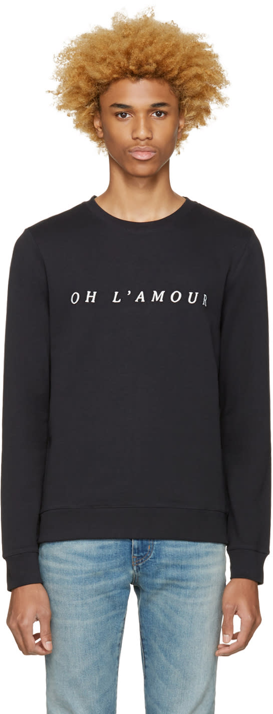 A.p.c. Black oh Lamour Pullover