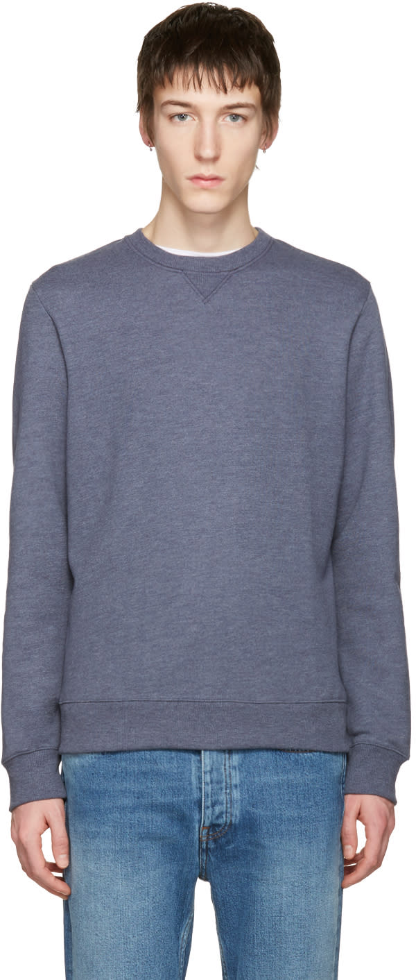 A.p.c. Blue 70s Pullover