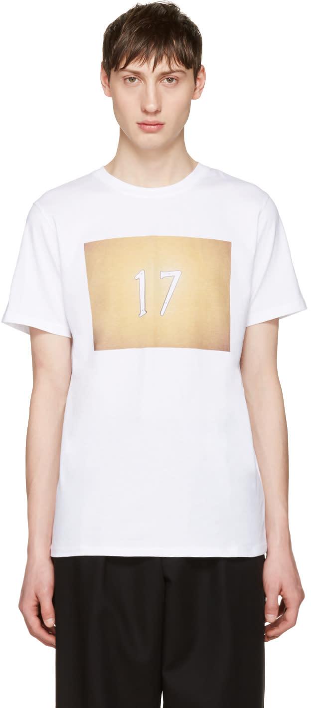 A.p.c. ホワイト 17 T シャツ