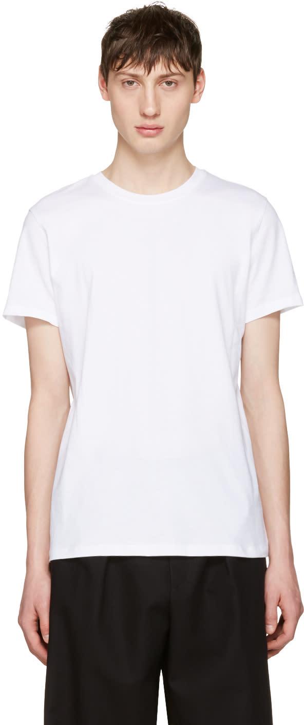 A.p.c. White Jimmy T-shirt