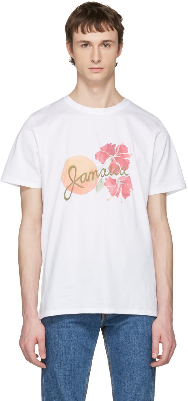 A.p.c. White Jamaica T-shirt