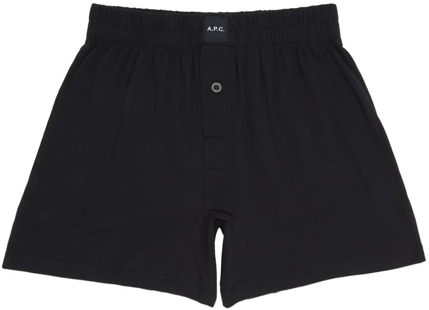 A.p.c. Black Cabourg Boxers