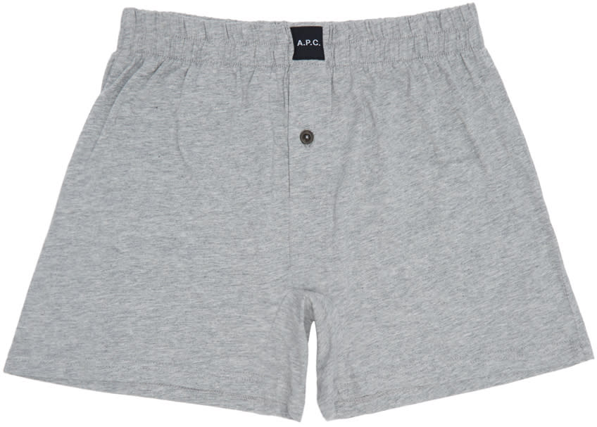A.p.c. Grey Cabourg Boxers