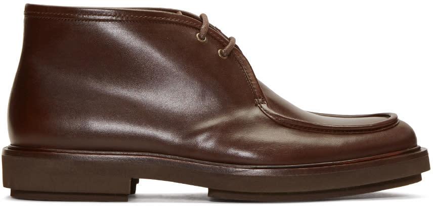 A.p.c. Brown Etienne Desert Boots